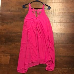 Francesca's Pink Dress